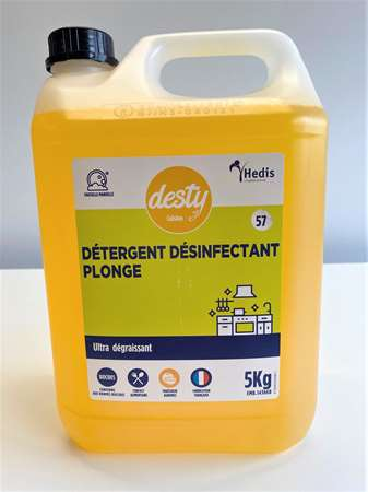 DESTY PLONGE DESINFECTANT ULTRA DEGRAISSANT 5KG (57)